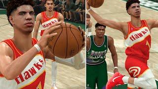 NBA 2K20 LaMelo Ball MyCAREER - Carrying The Team To VICTORY?! Revenge Game vs Bucks!