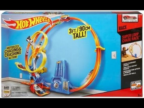 How To Assemble Hot Wheels Super Loop Chase Race Trackset Youtube