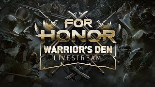 Warrior's Den Weekly Livestream - May 31st 2018