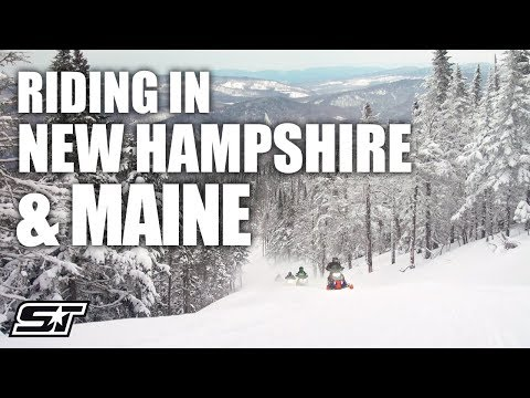 Polaris Snowmobile Adventure in New Hampshire & Maine
