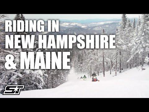 Polaris Snowmobile Adventure In New Hampshire & Maine