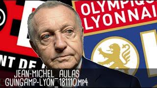 JEAN-MICHEL AULAS RÉAGIT APRÈS GUINGAMP - LYON (2-4) / Ligue 1 - 10 novembre 2018