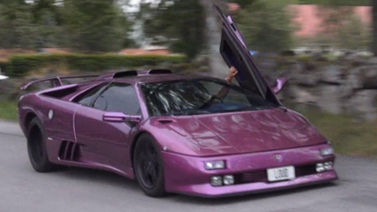 Lamborghini Diablo Se30 Jota 1 Of 12 Built Loud Revs Accelerations Startups