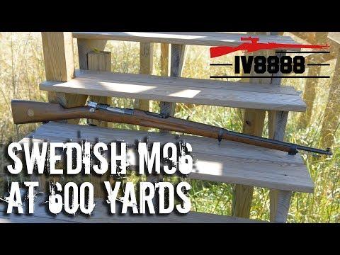 Swedish M96 Mauser at 600 Yards
