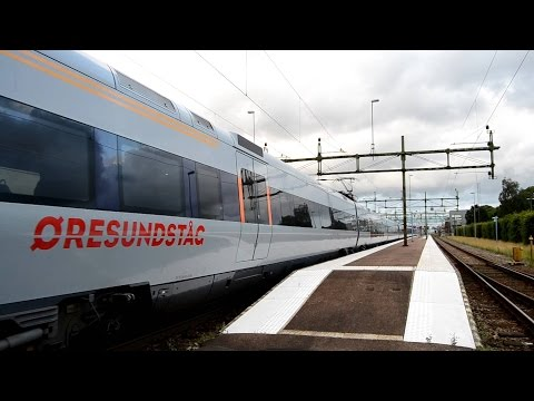 Train from Stockholm to Copenhagen