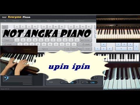 Not Angka Upin Ipin