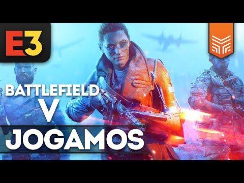 E3 2018: JOGAMOS BATTLEFIELD V! PRIMEIRAS IMPRESSÕES thumbnail