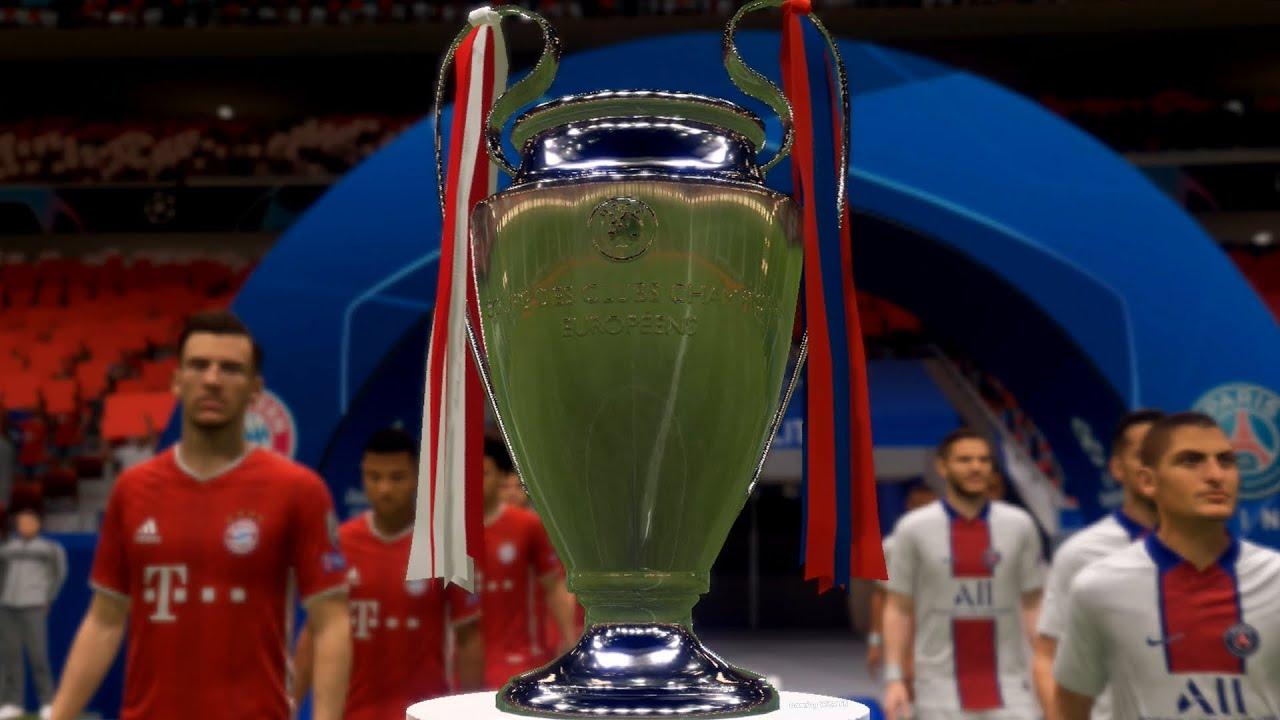 FIFA 2021 | UEFA CHAMPIONS LEAGUE FINAL | FHD GAMEPLAY ...