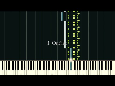 Gaspard de la Nuit – RAVEL [Piano Tutorial] (Synthesia)