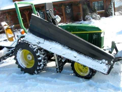 John Deere 3005 790 Compact Utility Tractor With Fabricated Rh