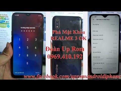Phá mật khẩu password Realme 3 RMX1821 RMX1825 wipe data đòi mật khẩu lấy ngay Phá Demo Realme 3 OK