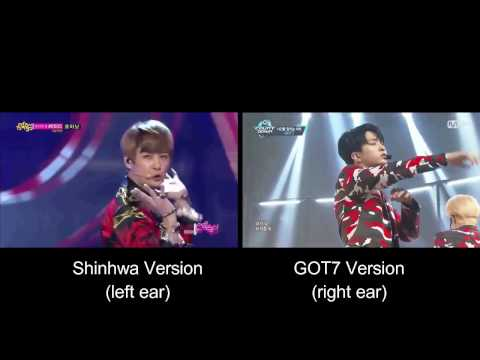 Shinhwa - This Love (GOT7 Cover Comparison)