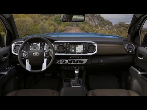 2016 Toyota Tacoma Interior Video Tour   Limited And TRD Trims Ideas