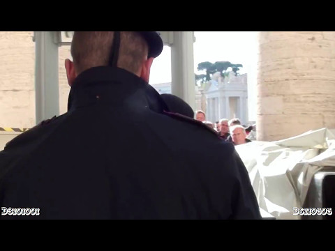 Armed Police Officers in Vatican City