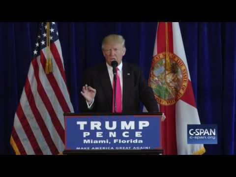 Donald Trump on Russia & missing Hillary Clinton emails (C-SPAN)