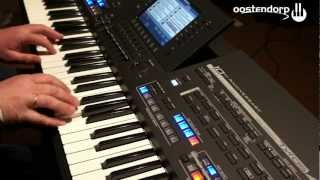 Yamaha TYROS 4 Black Limited Edition keyboard  bij Muziekcentrum Oostendorp Part 1