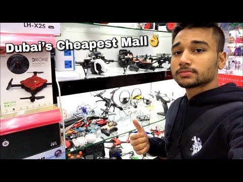 CHEAPEST MALL OF DUBAI- DRAGON MART!