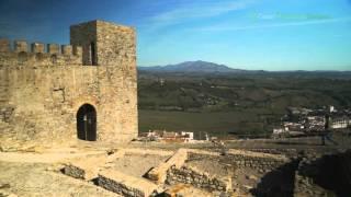 Pueblo y fortaleza, Jimena de la Frontra. Cádiz