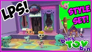 Littlest Pet Shop Design Your Way Huge Style Set Lps Playset! Review By Bin's Toy Bin