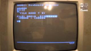 Запуск ігор комп'ютера ''Електроніка БК-0010'' на ''БК-0011''.
