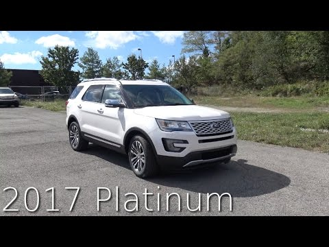 2017 Ford Explorer Platinum Review In 4K / AutoVlog