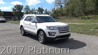 2017 Ford Explorer Platinum Review In 4K / AutoVlog