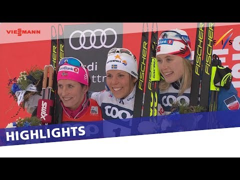 Highlights | Kalla stuns Bjørgen to seal Ruka Triple | FIS Cross Country