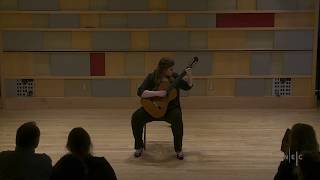 Ceili Connors - Lute Suite in E minor, BWV 996