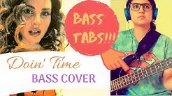 Lana Del Rey   Doin' Time   Bass cover with Tabs