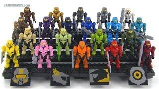 Baixar Mega Bloks Halo Spartan Tribute Pack Review! set 97520
