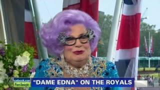 CNN: Dame Edna  'I'm a teeny little bit bored'