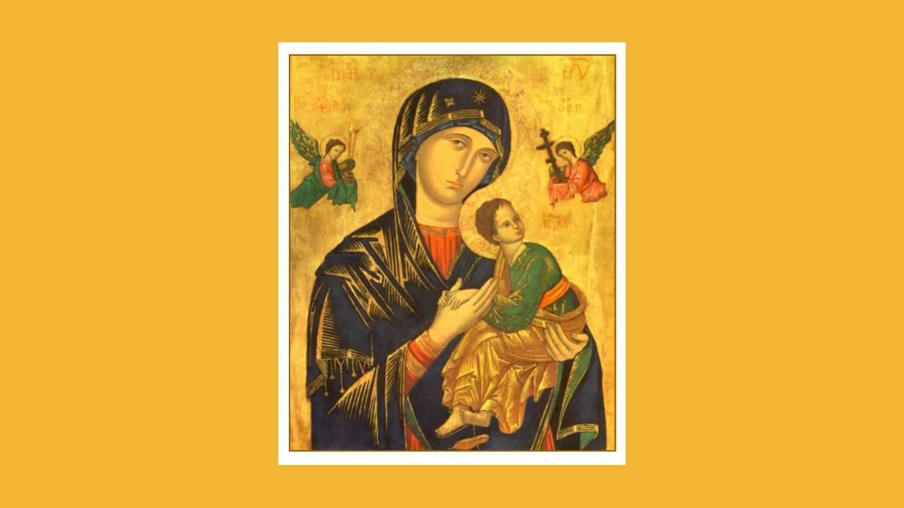 Explicação do Ícone de Nossa Senhora do Perpétuo Socorro. Santo Mohana a4fc001932