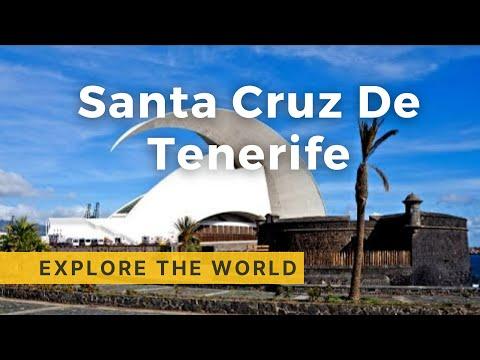 Walking in Tenerife  (Santa Cruz de Tenerife) 4K , Canary Islands