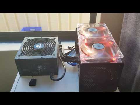 60GH/s Butterfly Labs Miner Cooling Mod 2017