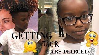 MY KIDS GOT THEIR EARS PIERCED!!!! │ Meet the Alexander Boys
