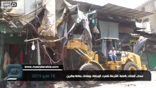 مصر العربية | اصحاب المحلات بالعتبة: الشرطة كسرت الوجهات وبهدلت بضاعة بملايين