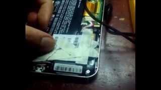 Reparar tableta HP slate 7- Puerto de carga con flex malo o pistas reventadas-