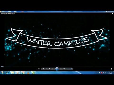 VKP  WINTER CAMP 2015 VIDEO  (25.12.2015 TO 31.12.2015)