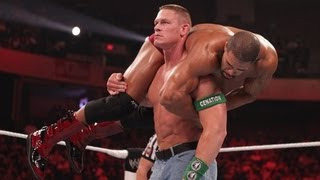 John Cena vs. David Otunga: Raw, May 21, 2012