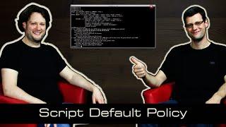 IPTables - 15 Script Default Policy [deutsch]