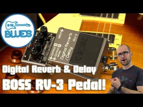 BOSS RV-3 Digital Reverb & Delay Pedal