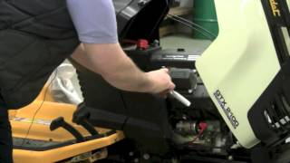 how to change a cub cadet lawn tractor spark plug
