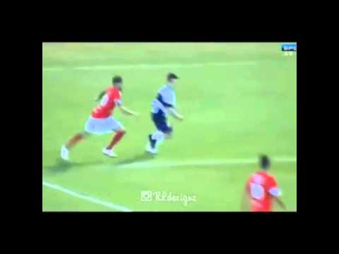 Neymar goal in charity game in Brazil this evening