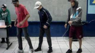 2010 Ação Expressiva - Dança: Passinhos do Funk 2C.wmv
