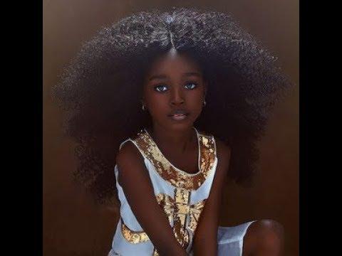 В 5 лет девочка из Нигерии была признана самой красивой в мире. Сейчас она еще красивее: фото