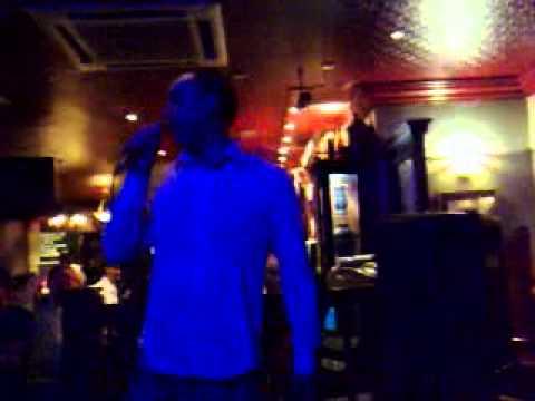 Jason Watt Karaoke of Eye of the Tiger
