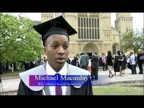 University of Kent at Medway graduates