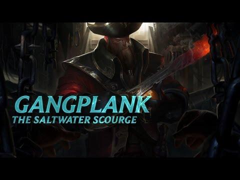 Gangplank: Champion Spotlight | Gameplay - League of Legends