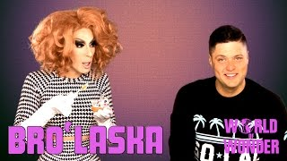 Bro'Laska w/ Alaska Thunderfuck & Cory Binney - Baby Food Challenge