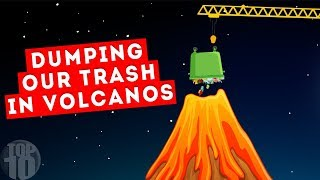 What If We Dumped Our Trash in Volcanos?